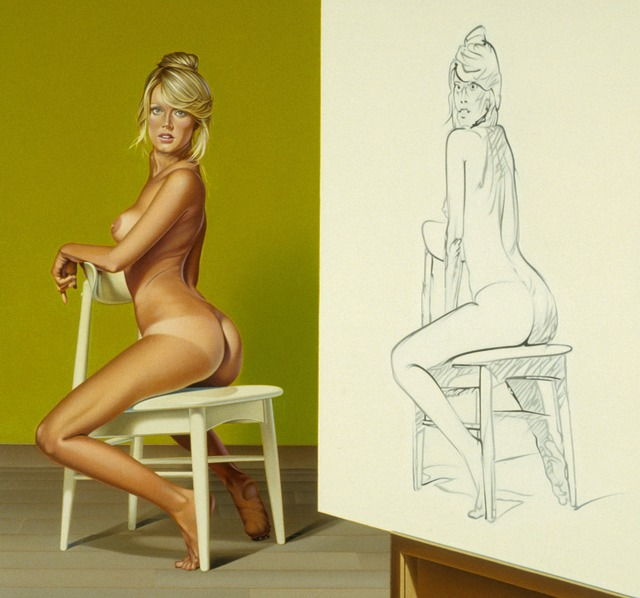 , 'The Drawing Lesson #1,' 1986-1987, Louis K. Meisel Gallery