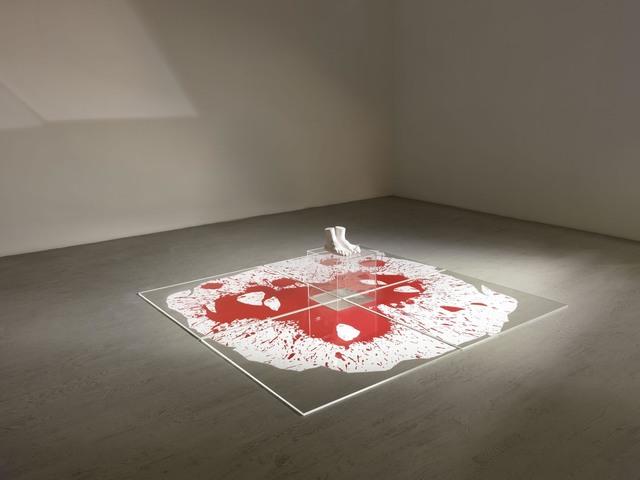 , 'Red carpet,' 2013-2014, Alfonso Artiaco