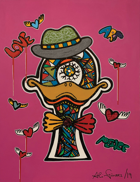 , 'Focky the duck (pink),' 2019, Peritechnon Karteris