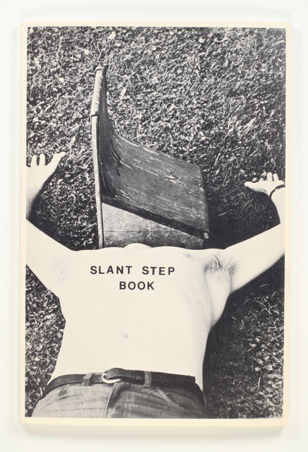 Philip Weidmann, 'Slant Step Book', 1973, Benjamin Ogilvy Projects