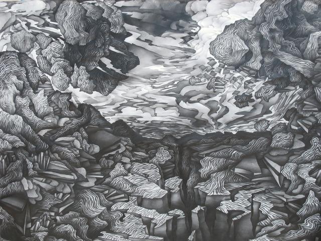 , 'Disassembling Landscape,' 2011, Moskowitz Bayse