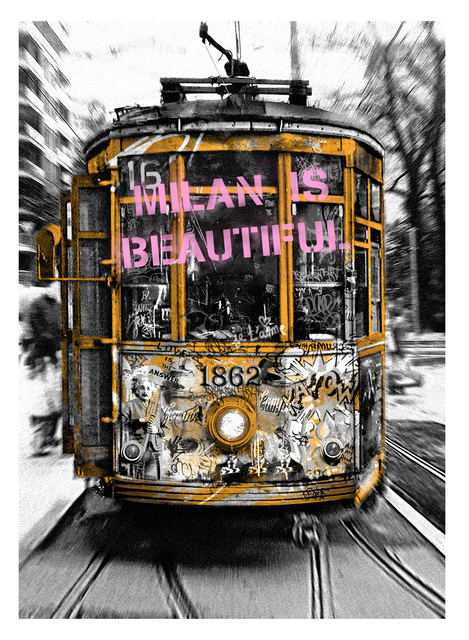 , 'Milan is Beautiful - Tram Pink,' 2019, Deodato Arte
