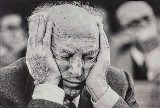 Paola Agosti, 'Pietro Nenni, Roma', 1976, Cambi