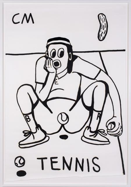 , 'TENNIS 3,' 2017, Ruttkowski;68