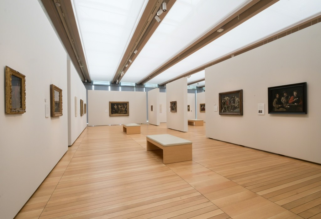 "Installation view of ""The Brothers Le Nain: Painters of Seventeenth-Century France"" at Kimbell Art Museum, Fort Worth (2016). Photo by Robert Laprelle"