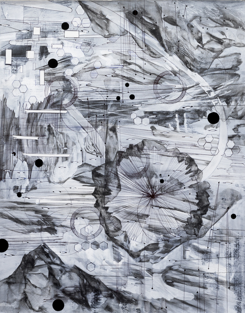 , 'Post digital landscapes series #8,' 2017, PATRICK MIKHAIL GALLERY