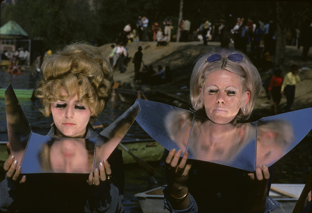 , 'Suntan Mirrors in Central Park, New York,' 1969, GALLERY FIFTY ONE
