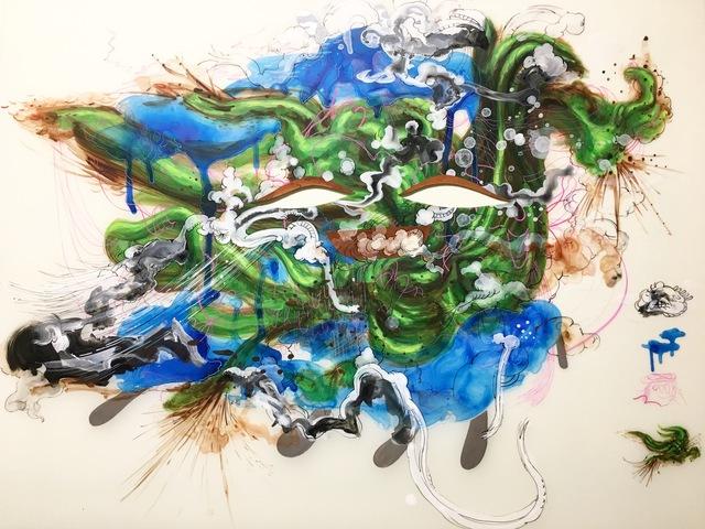 , 'Kudzu Floating,' 2017, Mindy Solomon Gallery