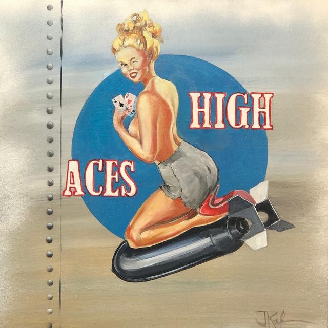 Jim Keifer, 'Aces High', 2017, Artspace Warehouse