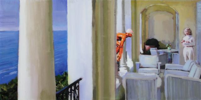 , 'El nadador de relaciones,' 2016, Victor Lope Arte Contemporaneo