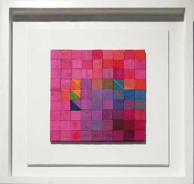 , 'Atomic Block 7 ,' 2018, The Melrose Gallery