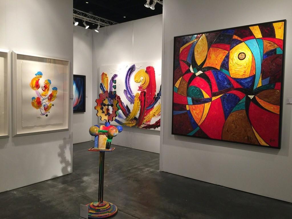 Samuel Lynne Galleries' Booth at Art Palm Beach 2015