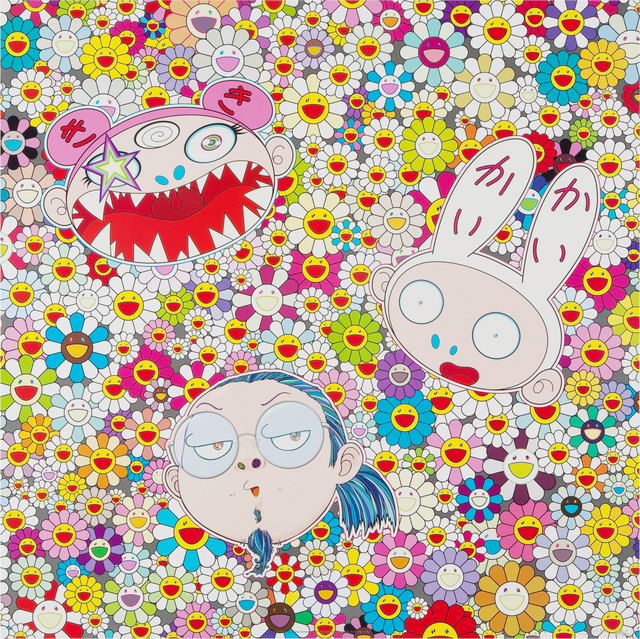 Takashi Murakami, 'Kaikai Kiki and Me - The Shocking Truth Revealed', 2010, Print, Offset lithograph in colours with cold stamp and UV coat on smooth wove paper, Lougher Contemporary