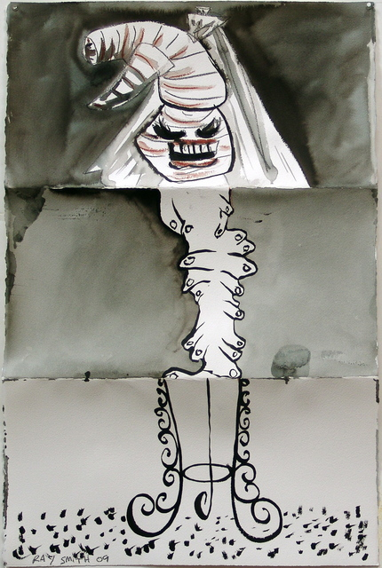 , 'Unguernica II #1,' 2009, McClain Gallery