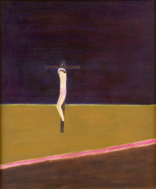 Craigie Aitchison, 'Crucifixion', 1971-1973, Piano Nobile