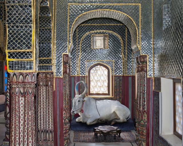 , 'Shiva's Disciple Samode Haveli Jaipur,' , Slowtrack Society