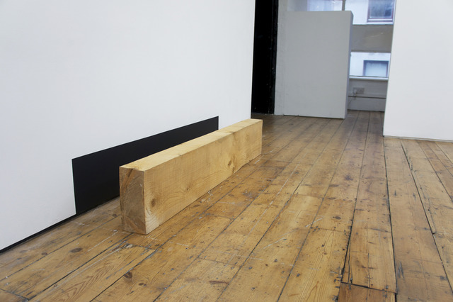 , 'Board Gap,' 2012, Hilary Crisp