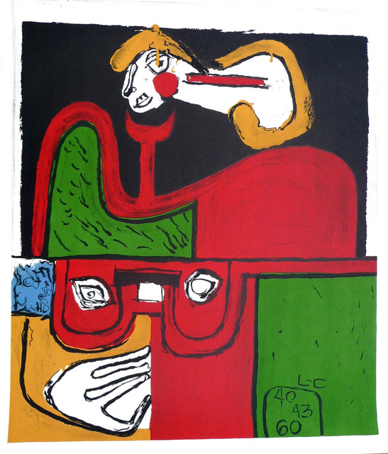 Le Corbusier, 'Portrait', 1960, Denis Bloch Fine Art