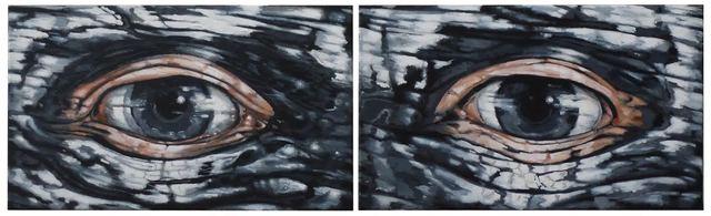 , 'Eyes (Diptych),' 2016, Lyle O. Reitzel