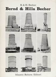 Volume published for the exhibition of Bernd & Hilla Becher in Genoa in collaboration with the Sonnabend Gallery in Paris curated by Germano Celant