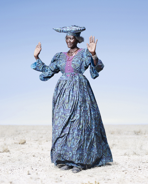 , 'Herero Woman in Blue Dress,' 2012, KLOMPCHING GALLERY