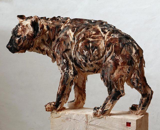 Jürgen Lingl-Rebetez, 'Hyena', 2019, Absolute Art Gallery