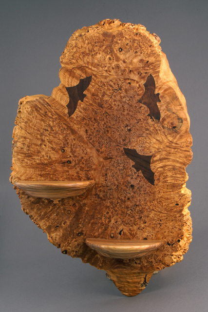 Michael Kehs, 'Bat Burl Shelf', 2017, Wood Symphony Gallery