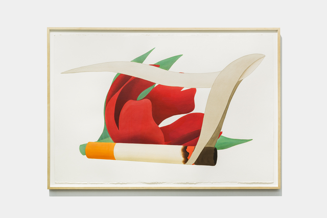 Tom Wesselmann, 'Big Study For Tulipe & Smoking Cigarette (Close-Up)', 1981, Galerie Mitterrand