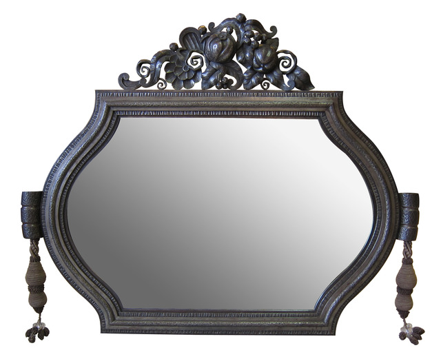 , 'Mirror with wrought-iron frame,' ca. 1925, DeLorenzo Gallery