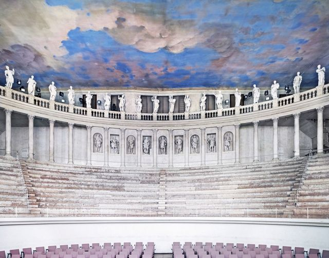 Candida Höfer, 'Teatro Olimpico Vicenza I 2010', 2010, Sean Kelly Gallery