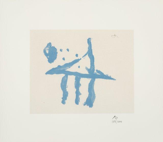 Robert Motherwell, 'Summer Trident, from Harvey Gantt Portfolio', 1970, Heritage Auctions