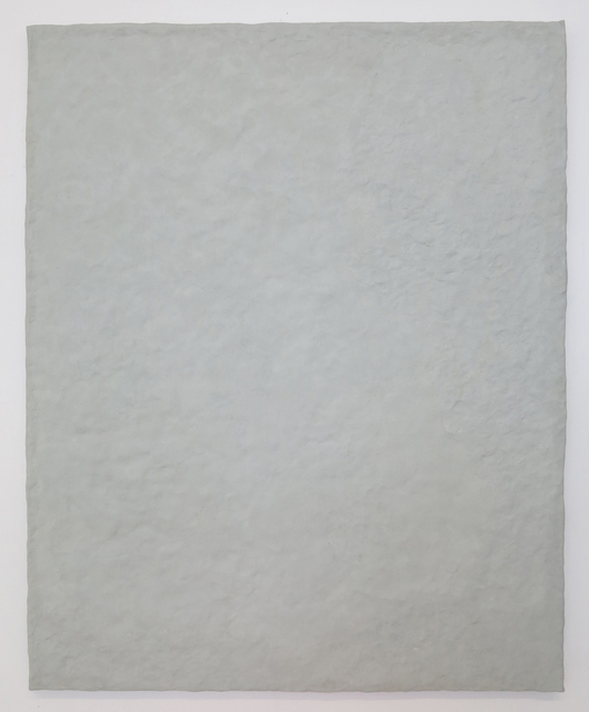, 'Untitled (gray canvas),' 2015, Johannes Vogt Gallery