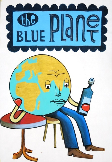 , 'Blue Planet,' 2017, Die Kunstagentin