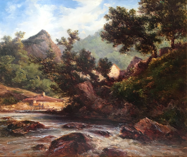 , 'Torrent en Montagne,' ca. 1850, James Hyman Gallery
