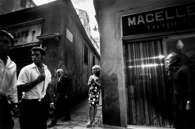 , 'Town of Genoa, Italy.,' 1962, Magnum Photos
