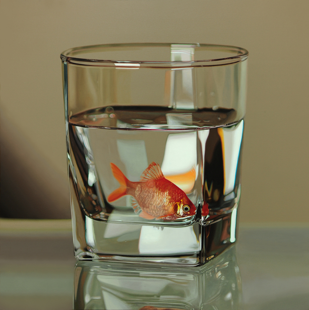 , 'Nothing.Life.Object (Fish in Glass),' 2015, Plus One Gallery