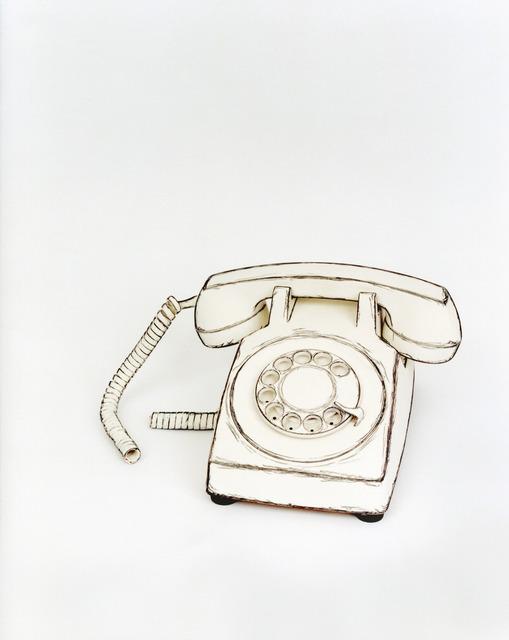 Cynthia Greig, 'Representation #38 (Telephone)', 2009, Photography, Borderless chrogenic print, Clark Gallery