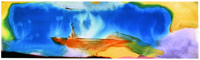 , 'Moveable Blue,' 1973, Helen Frankenthaler Foundation