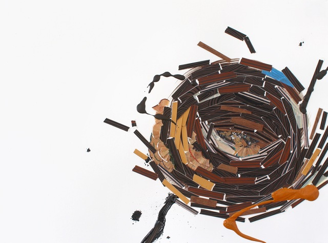 , 'Construction (no. 5),' 2016, Open Mind Art Space