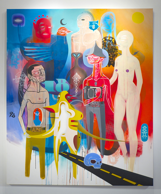 , 'Dustland Memories,' 2014, Jonathan LeVine Projects