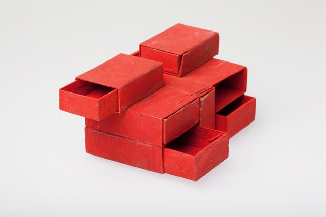 , 'Estrutura de Caixas de Fósforos Vermelho 7 caixas,' 1964, Dan Galeria