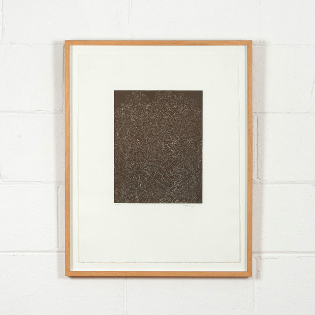 Mark Tobey, 'Psaltery First Form', 1974, Caviar20 Gallery Auction