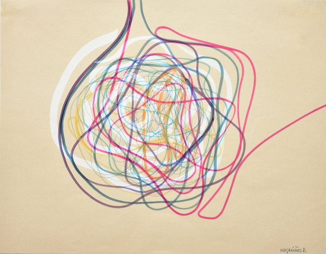 Victor Magariños, 'Untitled', ca. 1960, Drawing, Collage or other Work on Paper, Fiber on paper, Federico Towpyha   Arte Contemporáneo