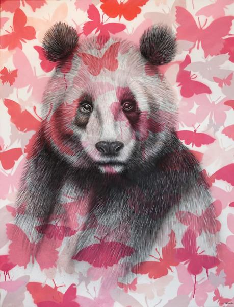 , 'Panda,' 2017, Mazel Galerie
