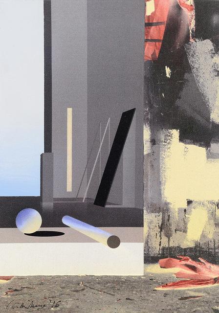 , 'Raum 1314 Floß (Atelier-Interieur),' 2016, Galerie Hans Mayer