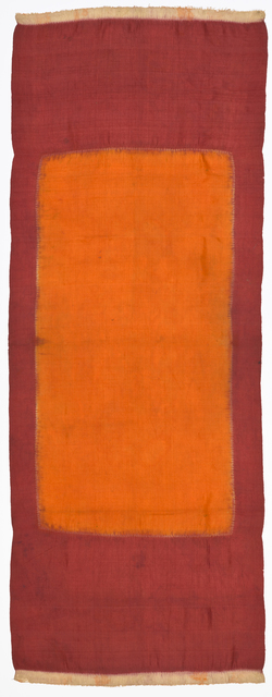 , 'Married woman's shoulder cloth (lawon),' 19th century, de Young Museum