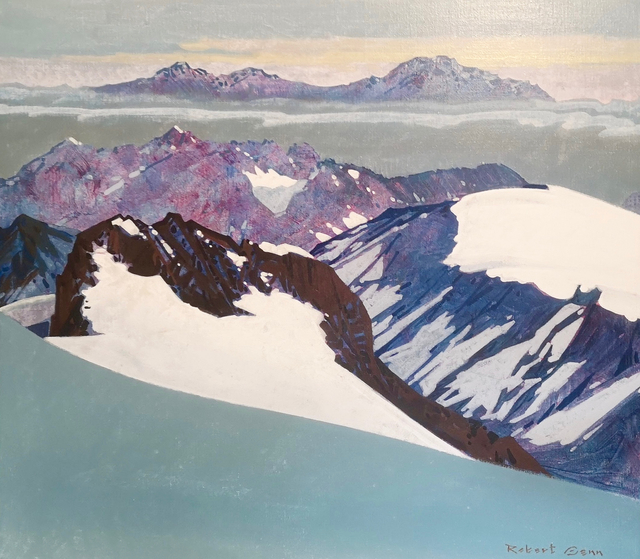 Robert Genn, 'Mountain Pattern', 1984, Painting, Acrylic on Canvas, Madrona Gallery