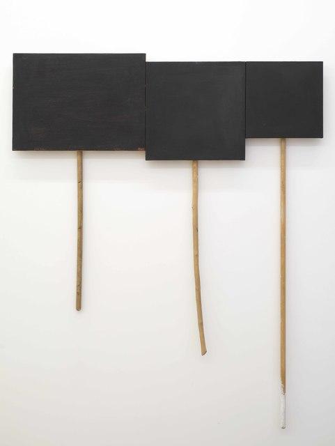 , '3 Panel Glyph #2,' 2012-2014, Seattle Art Museum