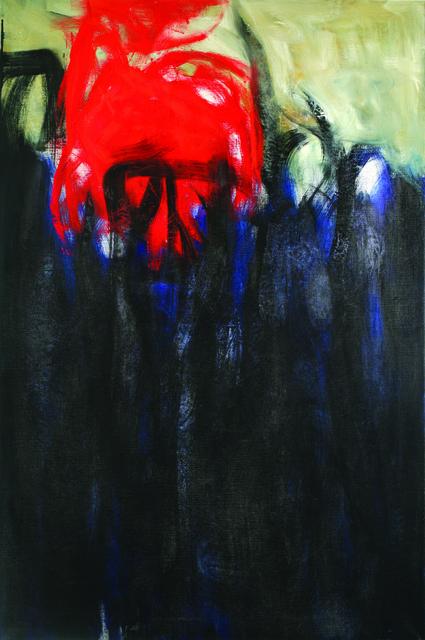 , 'Untitled (Columns of Fire),' 1956, ACA Galleries