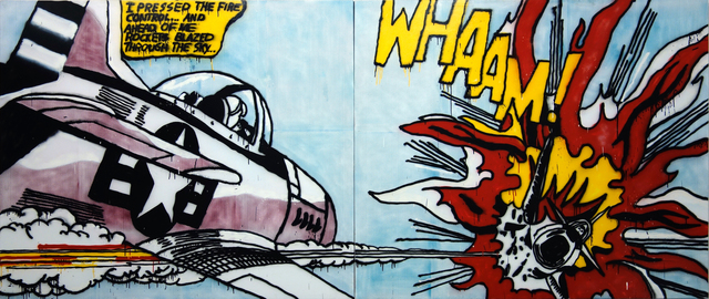 , 'Whaam! II,' 2016, CLEAR EDITION & GALLERY